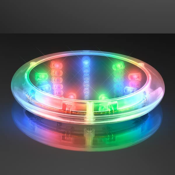 Infinity Tunnel LED Coasters Set Of 8