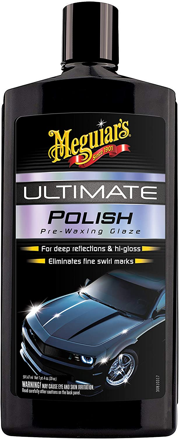 Meguier - difference between wax and polish
