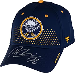 Rasmus Dahlin Buffalo Sabers Autographed Fanatics Branded Navy 2018 Draft Flex Hat Draft - Fanatics Authentic Certified
