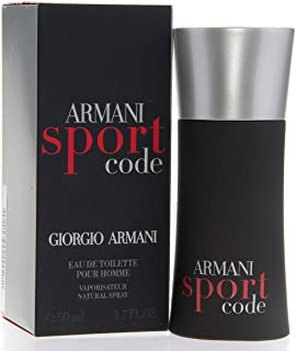 Giorgio Armani Code Sport for Men Eau de Toilette 50ml