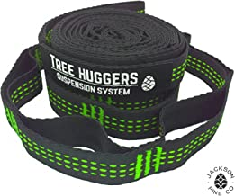 Jackson Pine Tree Huggers Hammock Straps- Superior Strength, 32 Adjustment Loops, Triple Stitched Reflective Tracers, Anti-Stretch and Tree Friendly, Tested to Hold 1000 Pounds