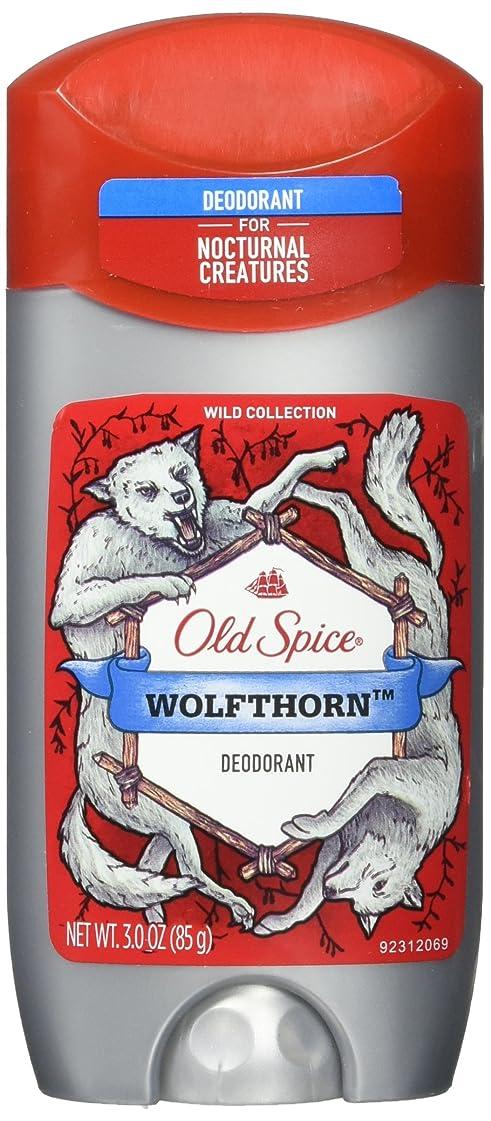直面するパイプライン中央値Old Spice (2パック)ワイルドコレクション - Wolfthorn香り - メンズデオドラント - 3オズ