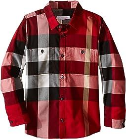 Burberry Kids - Mini Camber Shirt (Little Kids/Big Kids)