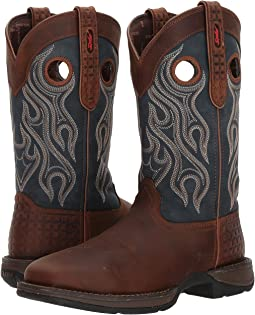 "Durango Rebel 12"" Western WP Square Steel Toe"