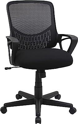Lorell Mesh Mid-Back Task Chair
