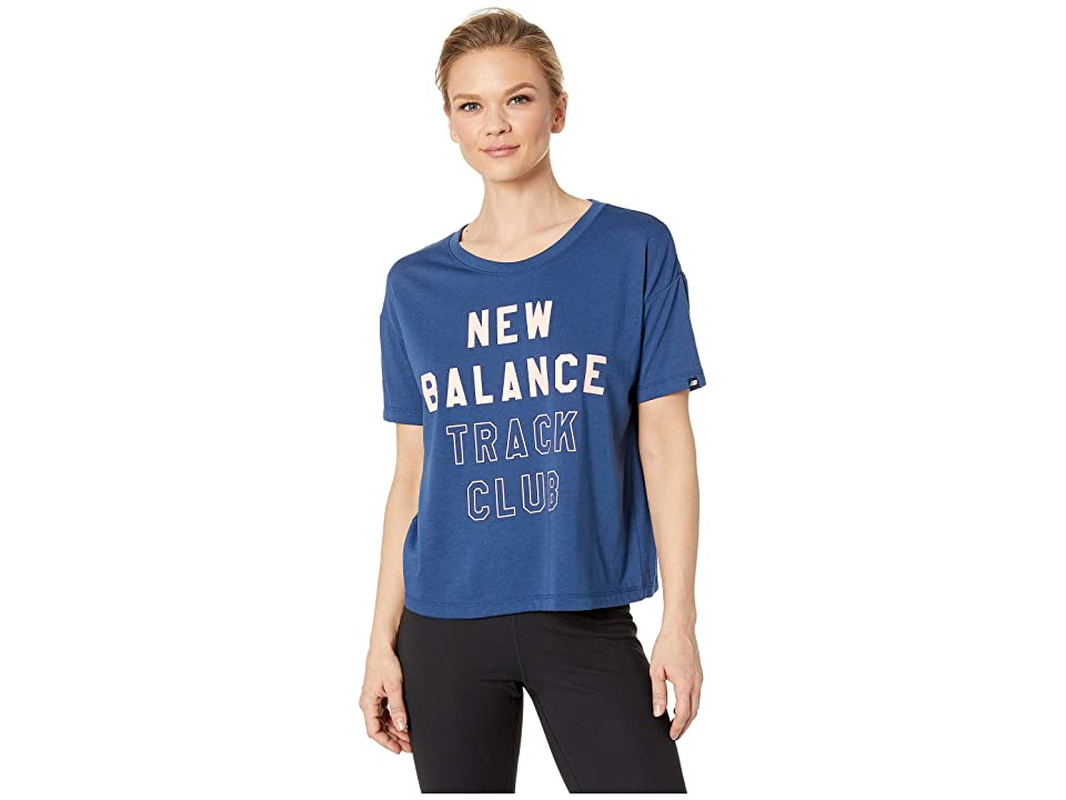 New Balance Essentials Tech Tee (Moroccan Tile) Women