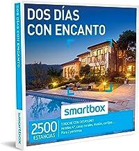 SMARTBOX - Caja Regalo -DOS DÍAS CON ENCANTO - 2500 ESTANCIAS, hoteles de hasta 4*, casas rurales, masías y cortijos en España, Italia, Francia y Portugal