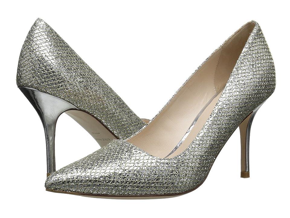 Cole Haan Bradshaw Pump 85 (Gold/Silver Glitter) High Heels