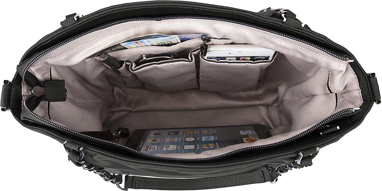 Travelon Parkview Anti-Theft Satchel Crossbody Bag