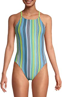 Women's Swimsuit One Piece Endurance Turnz Tie Back Printed