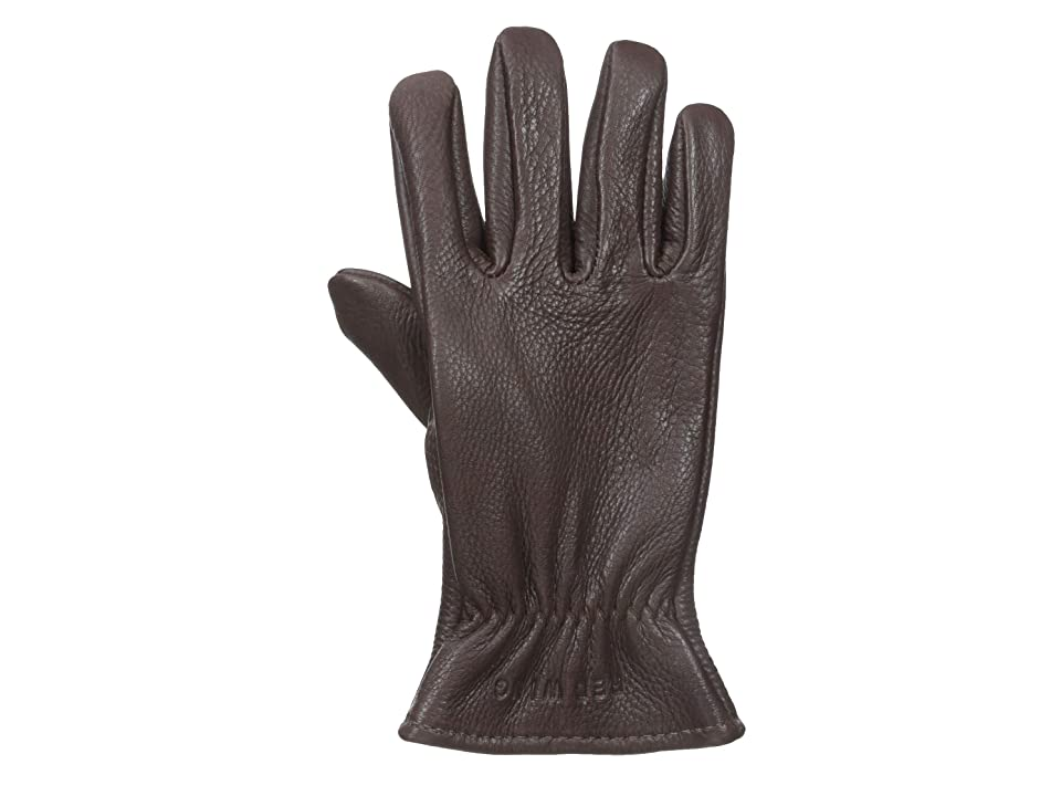 Red Wing Heritage Lined Gloves (Brown Buckskin) Cycling Gloves