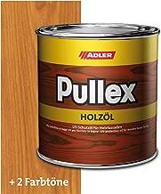 ADLER Pullex Holzöl Außen - Universell einsetzbar für senkrechte Holzflächen im Außenbereich - Holzpflege & Holzschutz auf Basis natürlicher, veredelter Öle - Farbe Lärche 2.5l
