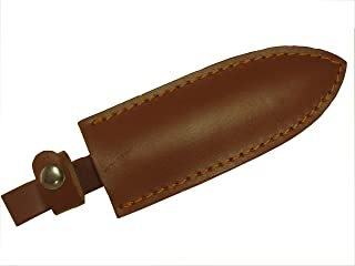 Fixed Blade Knife Sheath - Genuine Thick Leather - Up to 7-inch Single/Double Edge Blade Pocket – Belt and Handle Loops – Hori Hori, Hunting, Camping, Fishing, Tactical, Outdoor – RiverView Enterprise