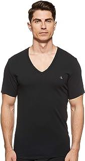 Calvin Klein Men's S/S 2 Pack V Neck T-Shirt