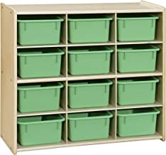 Contender Baltic Birch 12 Cubby Storage