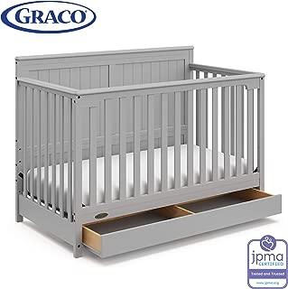 graco benton convertible crib pebble gray