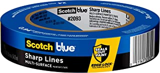 ScotchBlue Sharp Lines Multi-Surface Painter's Tape.94 inches x 60 yards, 2093, 1 Roll