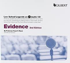 Law School Legends Audio on Evidence (Law School Legends Audio Series)