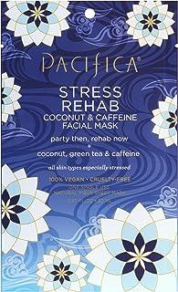 Pacifica Beauty Stress Rehab Coconut & Caffeine Facial Mask, 1 count