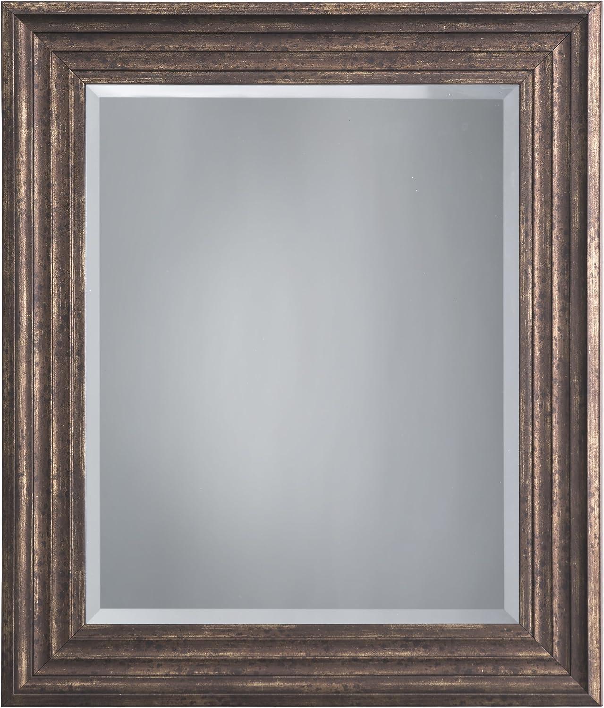 Yosemite Home Decor MINT016 Framed Mirror, Small, Espresso