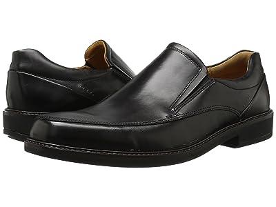 ECCO Holton Apron Toe Slip-On (Black) Men