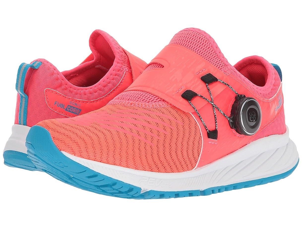 約束する信頼できるおもしろい(ニューバランス) New Balance レディースランニングシューズ?スニーカー?靴 Sonic V1 Vivid Coral/White/Maldives Blue 5.5 (22.5cm) D - Wide