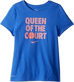 Nike Kids - Dry Queen of Court Basketball Tee (Little Kids/Big Kids)