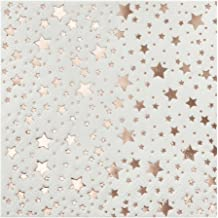 Ginger Ray Rose Gold Star Foiled Mini Party Cocktail Paper Napkins Christmas 20 Pack