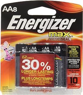 Energizer E91BP8 Max AA8 Batteries