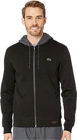 Sport Fleece Sweatshirt w/ Ergonomic Detail