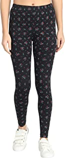 FunkFul Printed Legging for womens/Girls Ankle Length leggings for women Printed Cotton Legging of women combo of 1