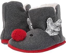 Reindeer Sequin Bootie