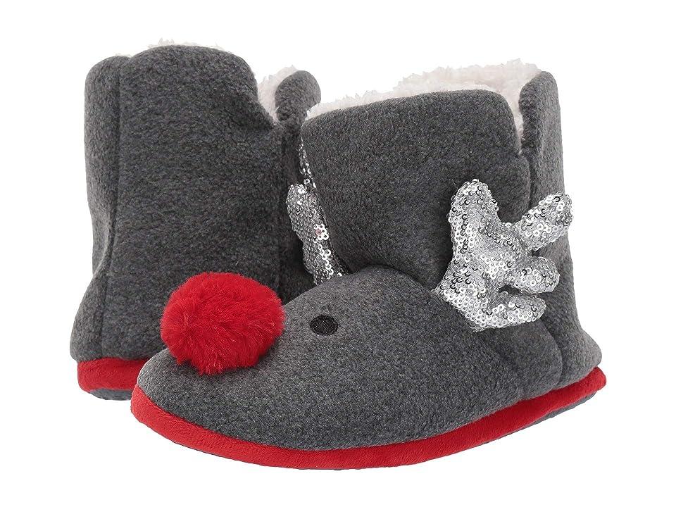 Collection XIIX Reindeer Sequin Bootie (Grey) Women
