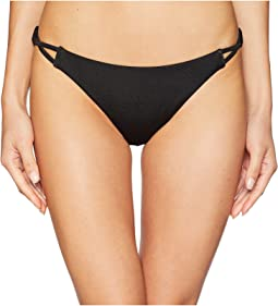 Solid Shimmer Medium Swim Bottom