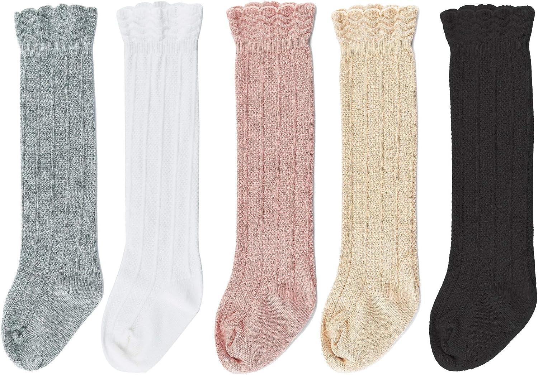 Soarsue Baby Knee Socks High Popularity Girls Tube Toddlers Ruffled Industry No. 1 U