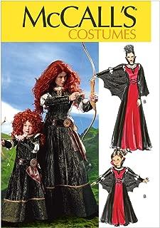 McCall's M6817 Women's Scottish Princess and Vampire Halloween Costume Sewing Pattern, Sizes S-XL