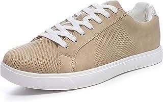 Ben Mens Perforated Low Top Sneakers