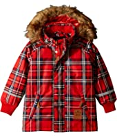 mini rodini - K2 Check Parka (Infant/Toddler/Little Kids/Big Kids)
