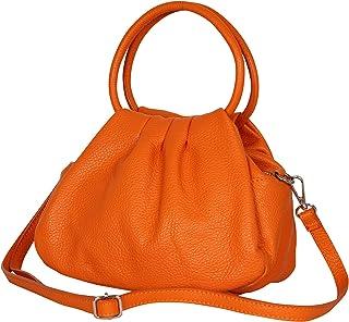 AmbraModa GLX13 - Damen Handtasche Henkeltasche Schultertasche aus Leder