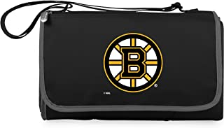 PICNIC TIME Unisex NHL Boston Bruins Outdoor Picnic Blanket Tote 820-00-175-034-10, Black