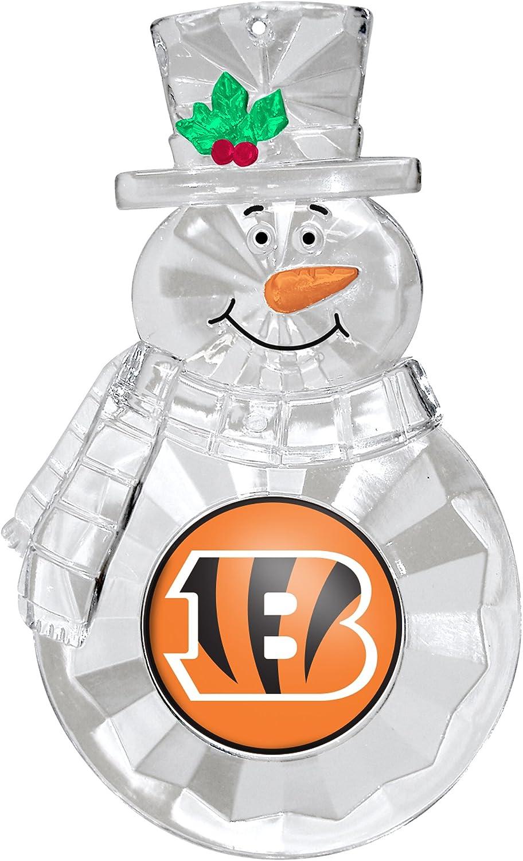 NFL Cincinnati Bengals Traditional Snowman Ornament