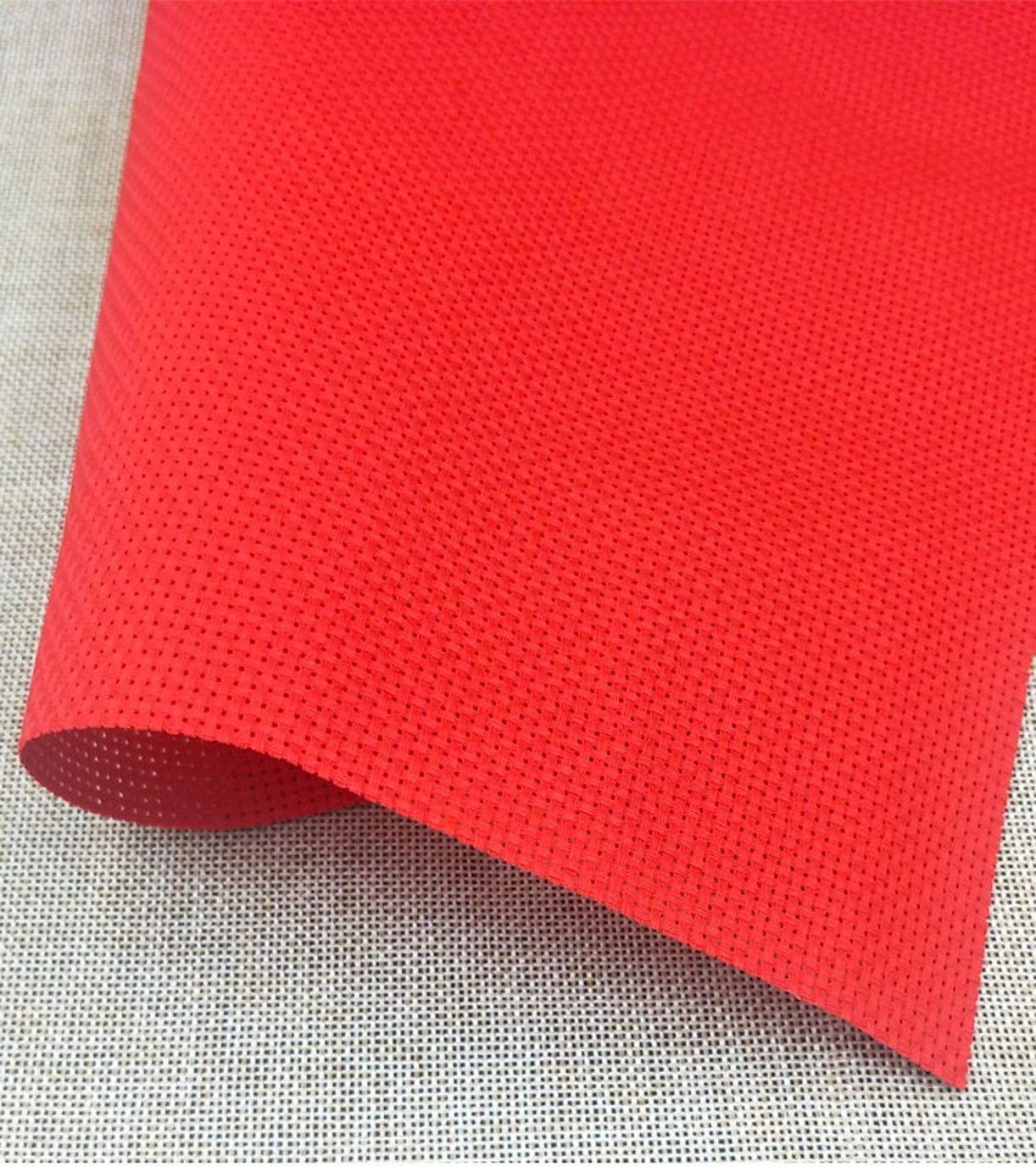 WellieSTR 150 x 90cm RED 100% Regular discount 11c Embroidery Aida Genuine Free Shipping Cloth Cotton