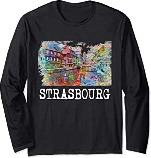 Strasbourg Shirt - Alsace T Shirt tShirt Tee Long Sleeve T-Shirt