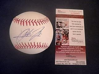 lee may autographed baseball