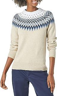 Amazon Essentials Women's Crewneck Novelty Sweater