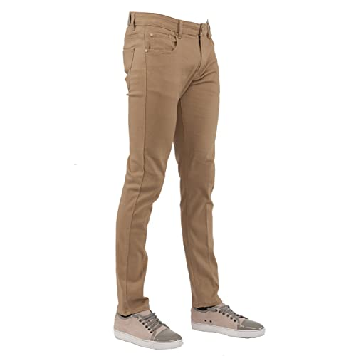 3b0e35ea2d9 Perruzo Men s Skinny Fit Stylish Stretch Jeans