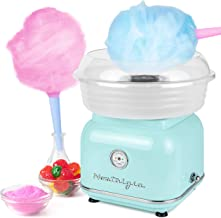 Nostalgia CLCM8AQ Classic Retro Hard and Sugar Free Countertop Cotton Candy Maker,..