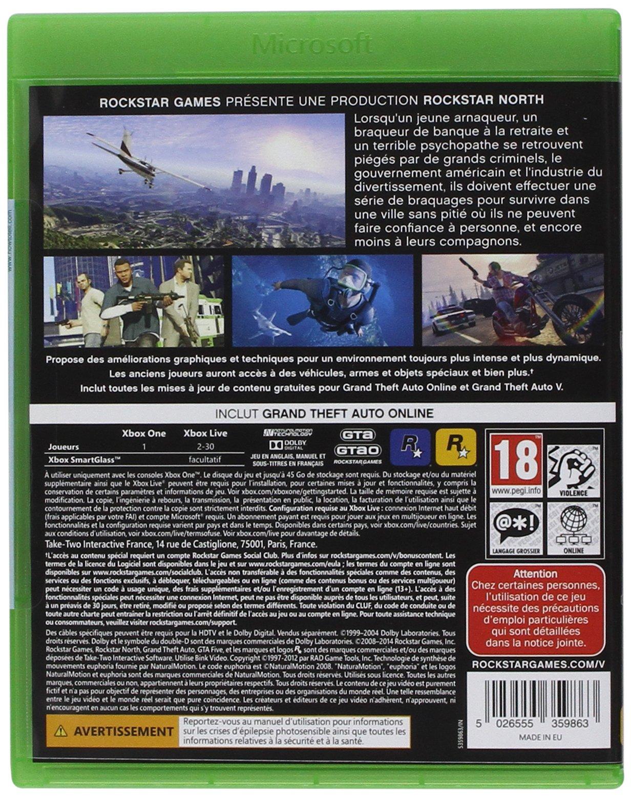 GTA V [Importación francesa]: Amazon.es: Videojuegos