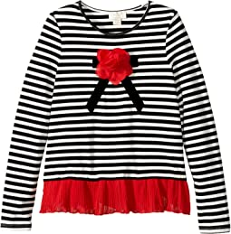 Kate Spade New York Kids - Bow Applique Top (Little Kids/Big Kids)