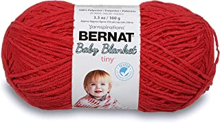 Bernat Baby Blanket Tiny Yarn Red Barn